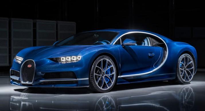 Bugatti Chiron 2017 Фото 2