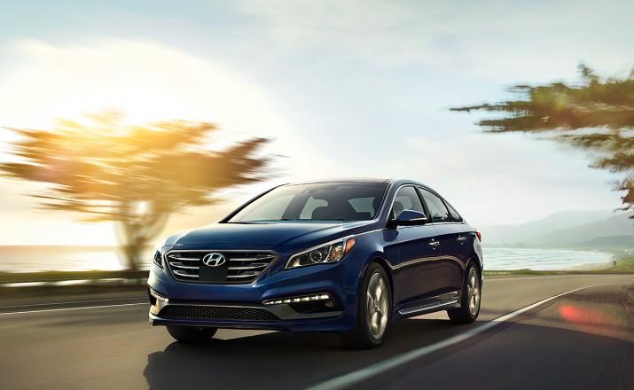 Hyundai Sonata обновленный седан приедет в Россию осенью