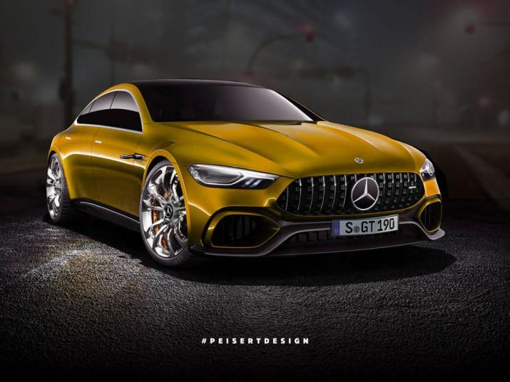 Концепт Mercedes-AMG GT 2017 Фото 01