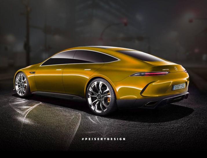 Концепт Mercedes-AMG GT 2017 Фото 02