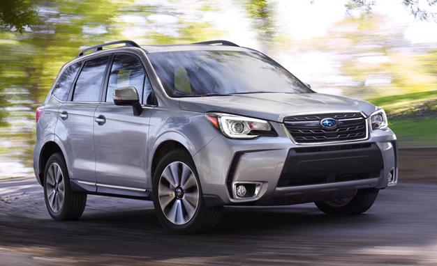 Концерн Subaru начал российские продажи обновленного кроссовера Forester