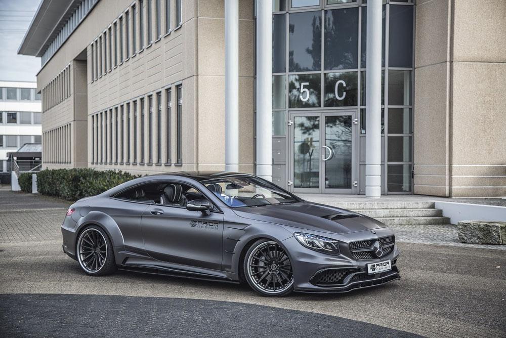 Всети интернет появились фотографии обновлённого дизайна Mercedes S-Class