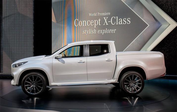 Mercedes не намерен поставлять новый среднеразмерный пикап на американский рынок