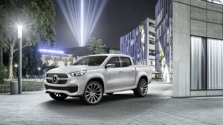 Mercedes представил последнюю версию концепта пикапа X-Class