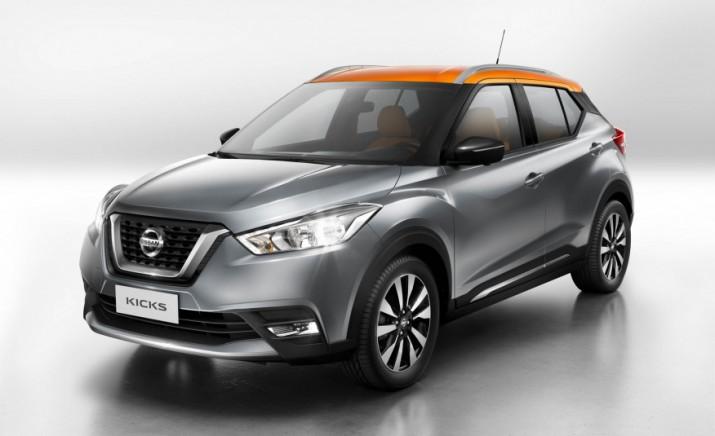 Nissan представит новый кроссовер Kicks для Китая
