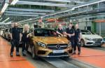 Новый Mercedes-Benz GLA 2018 уже стоит на конвейере в Раштатте