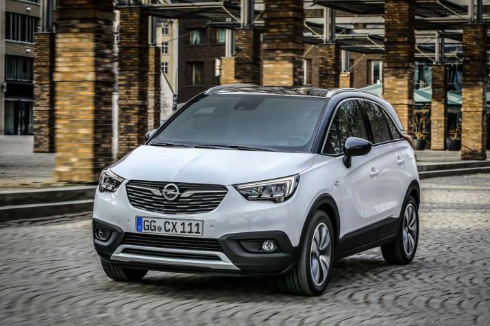 Новый Opel Crossland X 2017 Фото 01
