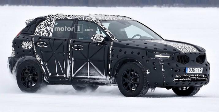 Новый Volvo XC90 проходит снежные испытания в Европе
