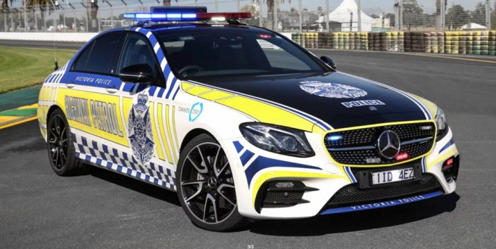 Полиция Mercedes-AMG E43 2017 Фото 2