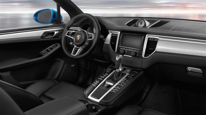 Porsche Macan интерьер