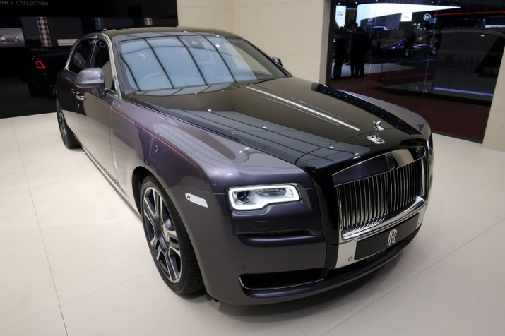Rolls-Royce Ghost Elegance с брилиантами Фото 4