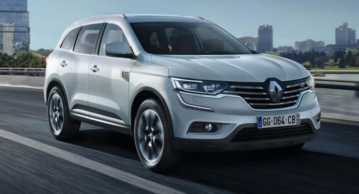 Российские продажи Renault Koleos стартуют летом