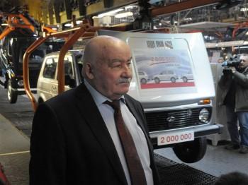 Создатель Нивы скончался 19 марта в Тольятти