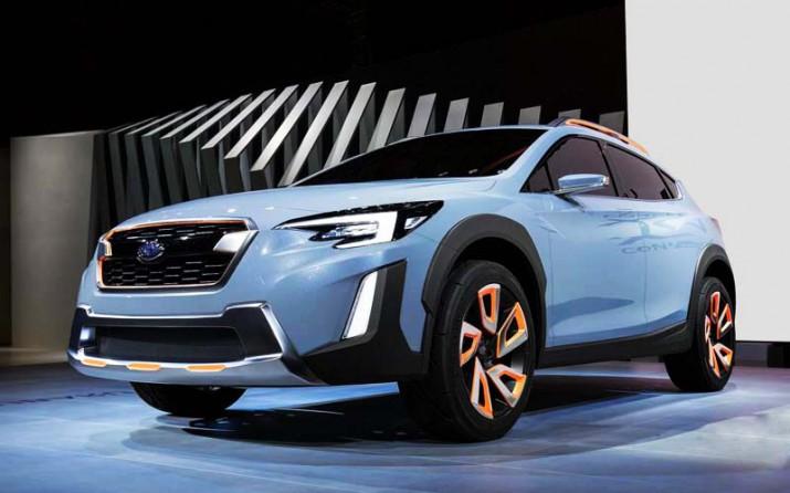 Subaru SV предстал перед публикой на автошоу в Женеве