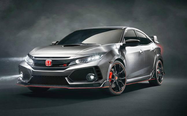 Теперь и вы знаете как выглядит заряженный Honda Civic Type-R1