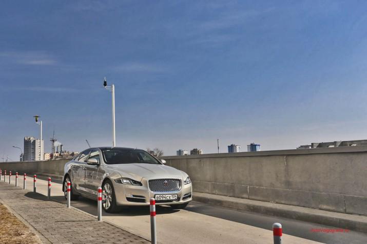 Тест-драйв Jaguar XJ Фото 48