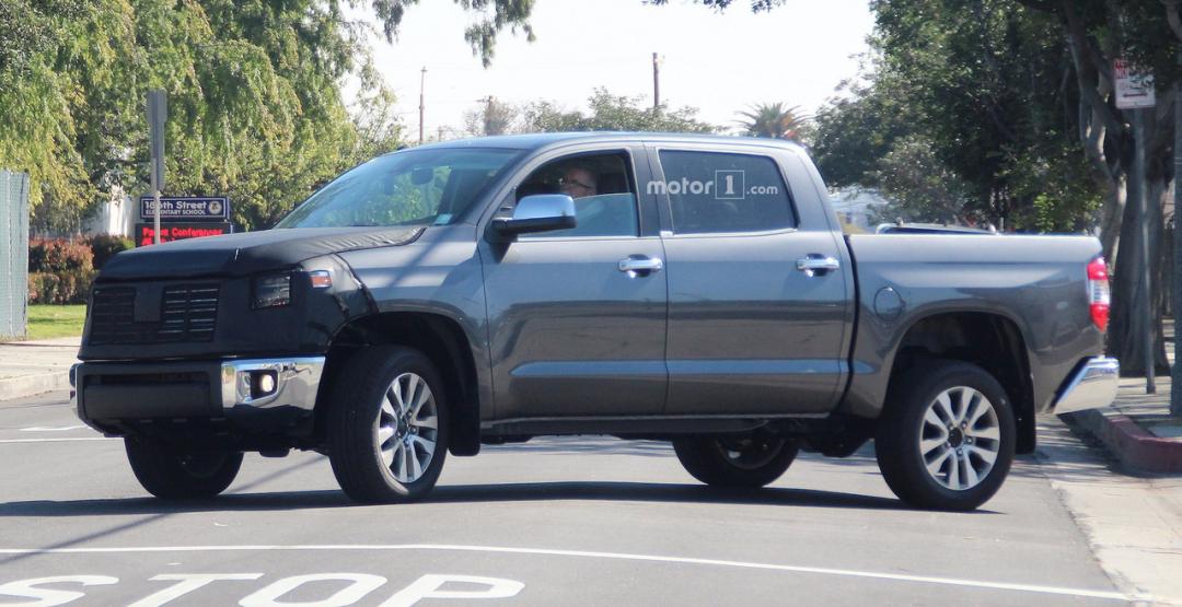 Toyota Tundra получит очередной рестайлинг