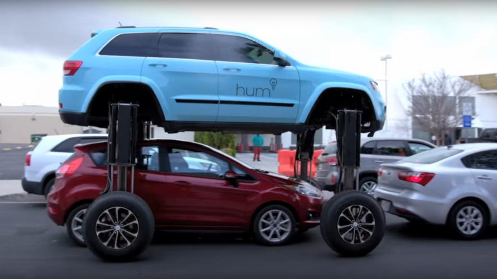 ВСША испытали автомобиль-трансформер откомпании Thinkmodo