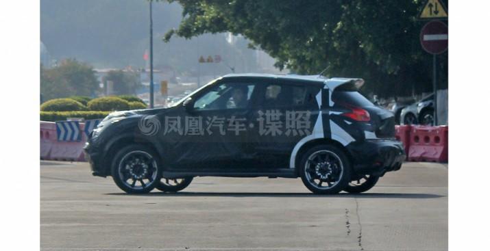 В сети появились снимки тестового прототипа новой генерации Nissan Juke