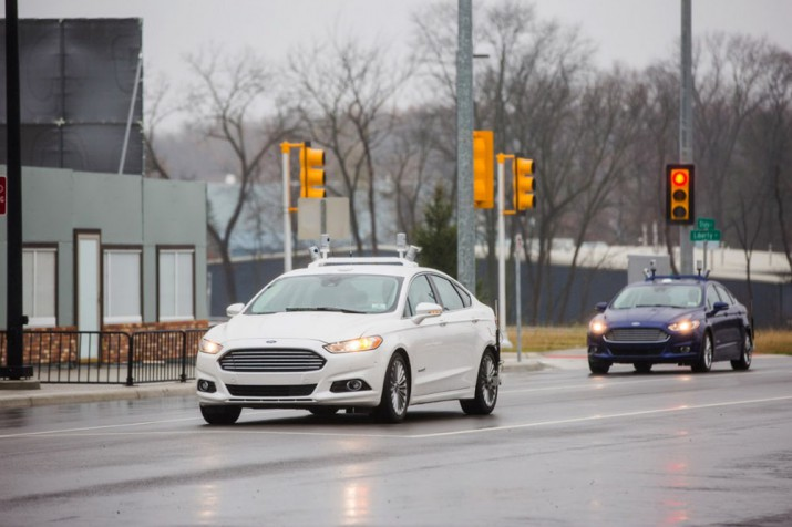 Беспилотные автомобили Ford Фото 03
