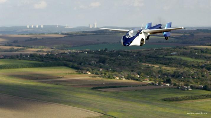 Европейцы смогут приобрести первый летающий автомобиль уже 20 апреля