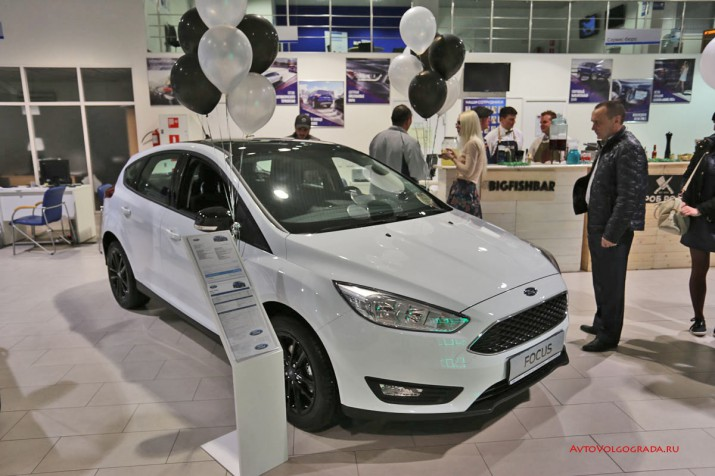 Ford Focus White Black от Арконт в Волгограде 2017 фото 14