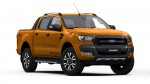 Ford Ranger Wild Trak in Pride Orange