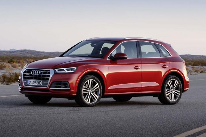 Новая генерация Audi Q5 появится в России в мае
