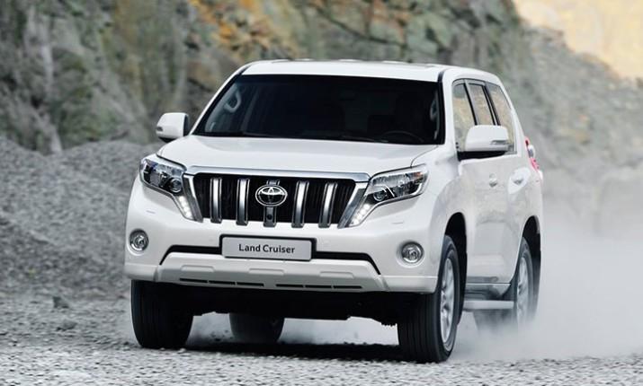 Рестайлинг Toyota Land Cruiser Prado появится на рынке в июле этого года