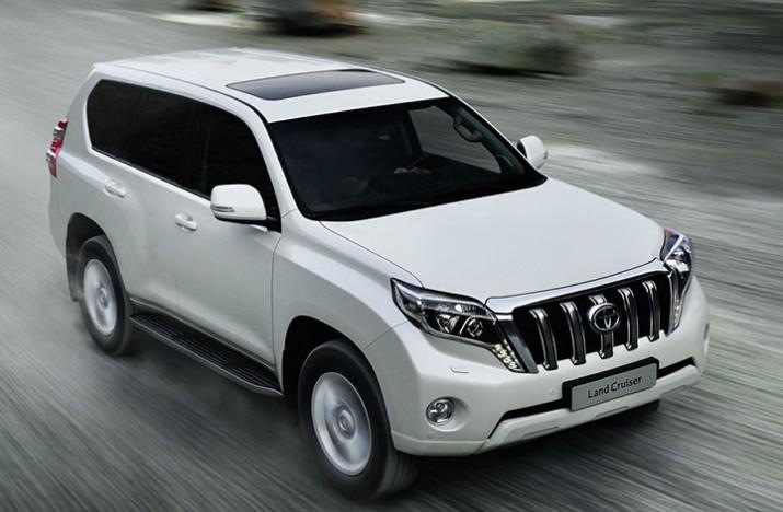 Рестайлинг Toyota Land Cruiser Prado появится на рынке в июле этого года1