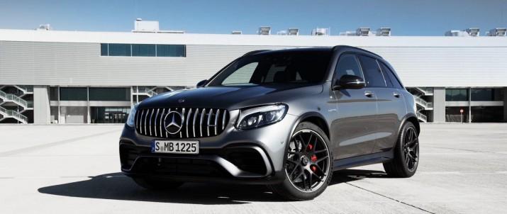Спортивный Mercedes GLC получит мощный четырехлитровый мотор V8