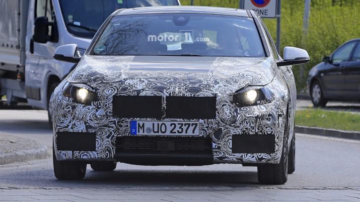 Третье поколение BMW 1-Series появилось в сети