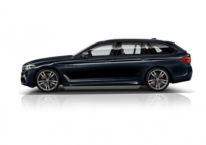 В BMW представили заряженную пятерку с новым мощным дизелем