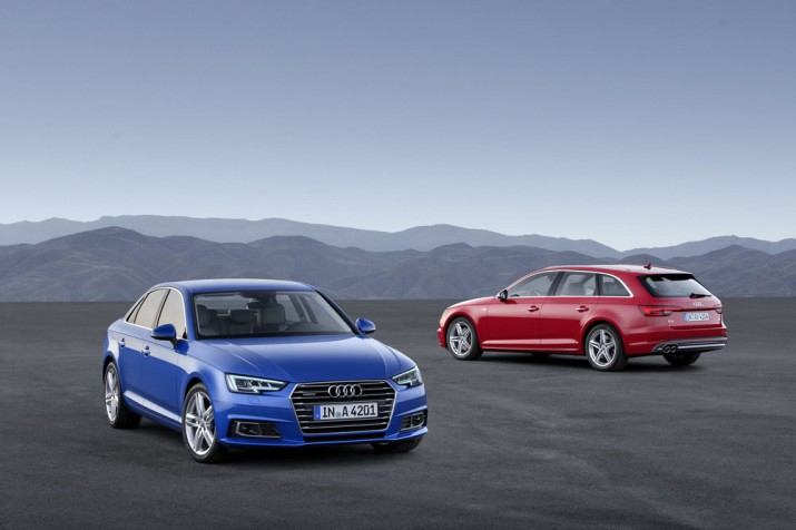 Audi автомобили 2016