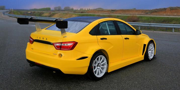 Автоваз представил самую быструю версию Lada Vesta TCR