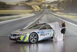 BMW i8 полицейский 2017 Фото 09