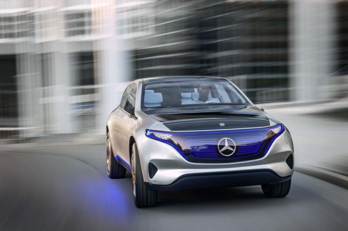 Электромобили Mercedes 2018 Фото 01