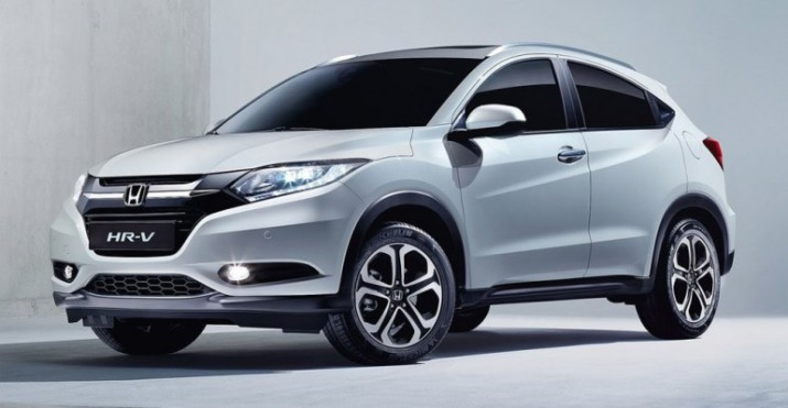 Honda готовит вывести на рынок обновленный кроссовер HR-V