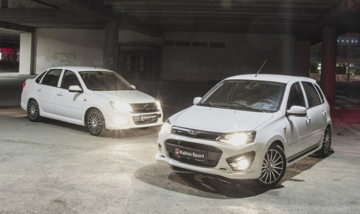 Lada Granta Sport и Kalina Sport попали под отзыв