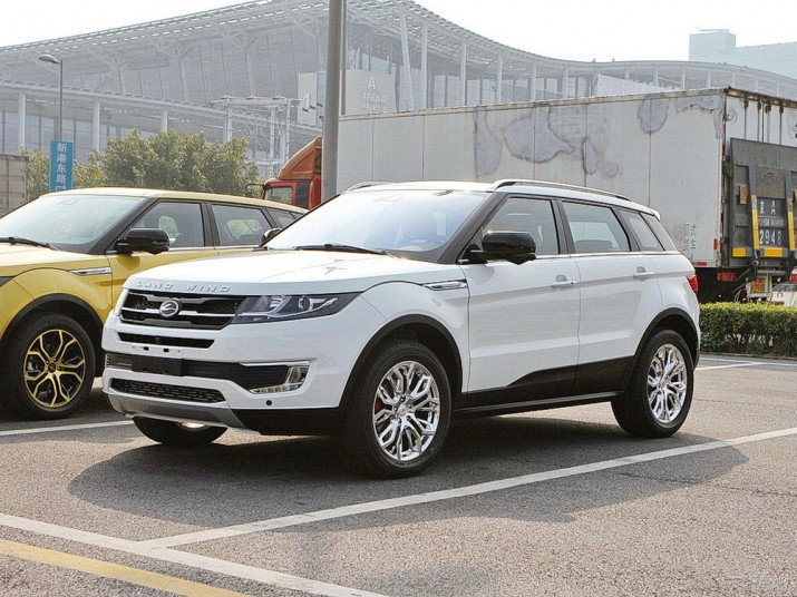 Landwind X7 Land Rover Evoque Фото 01