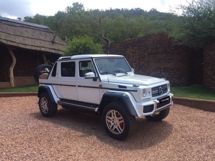 Mercedes-Maybach G650 Landaulet Фото 01