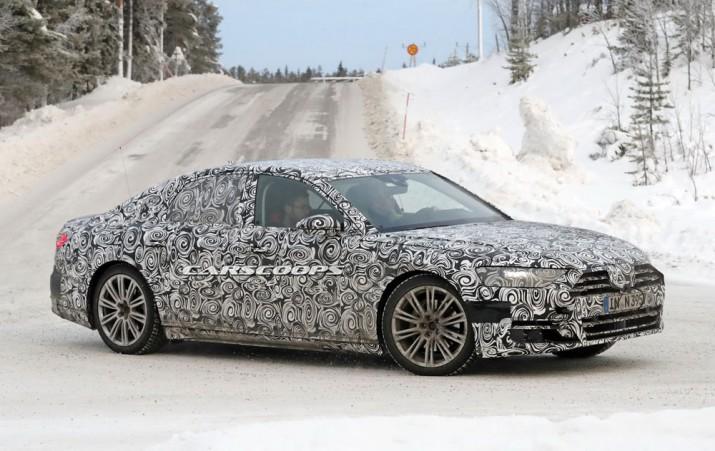 Новый Audi A8 2018 Фото 08