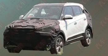 Новый Hyundai Creta 2017 показался на шпионских фото