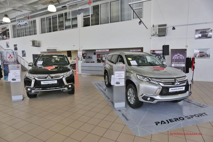 Презентация Mitsubishi Pajero Sport дизель 2017 Фото 7