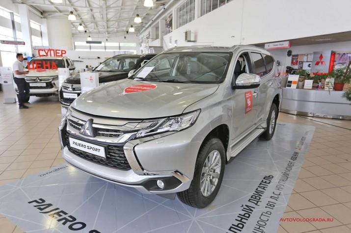 Презентация Mitsubishi Pajero Sport дизель 2017 Фото 9