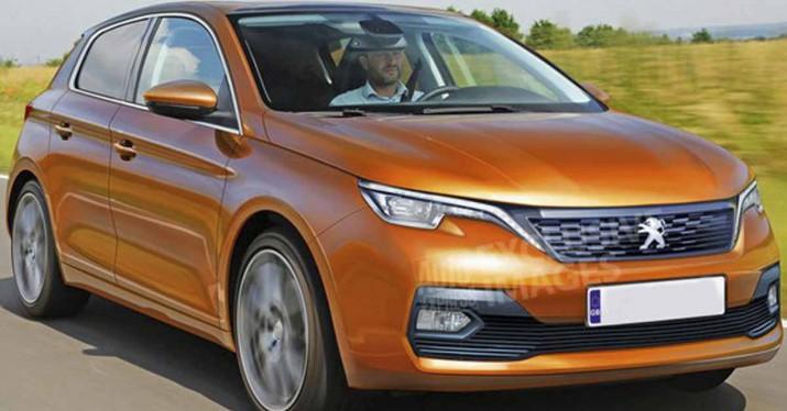 Рассекречен более технологичный и современный хэтчбэк Peugeot 308