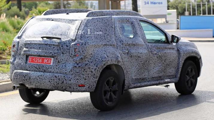 Renault Duster 2018 заметили на тестах в новом кузове