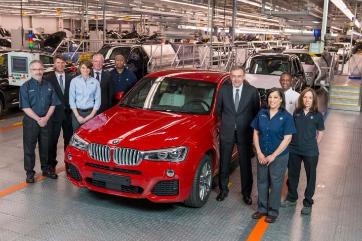 Завод BMW США