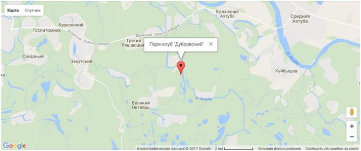 парк Дубровский