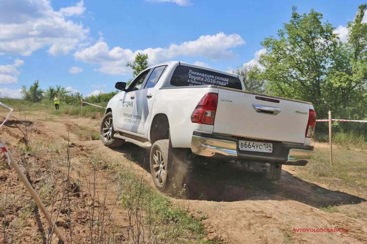 тест драйв внедорожников Toyota Агат Волгоград 2017 Фото 48